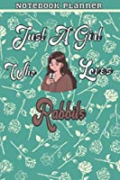 Just A Girl Who Loves Data Set 43 Gift Women Notebook Planner: College,Finance,Homeschool,Appointment,Bill,To Do List,Passion,6x9 in ,Work List,Management,Teacher,Book,Gift