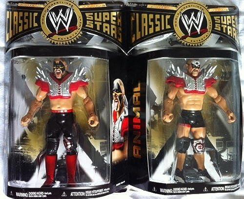 WWE LA LéGION OF DOOM Classique Superstars Séries 27 Route Guerriers Hawk et Figurines Animaux