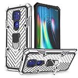 LUSHENG Compatible avec L'étui Motorola Moto G9 Play, Etui Résistant Aux Chocs Double Couche pour...