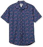 Amazon Essentials Regular-Fit Short-Sleeve Shirt Camicia, Floreale, M