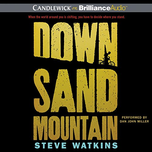 Down Sand Mountain audiobook cover art