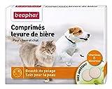 Beaphar - Comprimés levure de bière bénéfiques pour la peau et le pelage - chien et chat - 100 comprimés