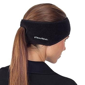 TrailHeads Women s Ponytail Headband - black/black