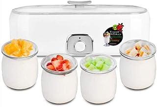 SJYDQ Automatique yogourt Machine à Machine yogourt avec des Pots en céramique, Affichage numérique, Faites en sorte Frais...