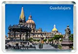 DreamGirl I248 Guadalajara Jumbo Imán para Nevera Mexico Travel Fridge Magnet