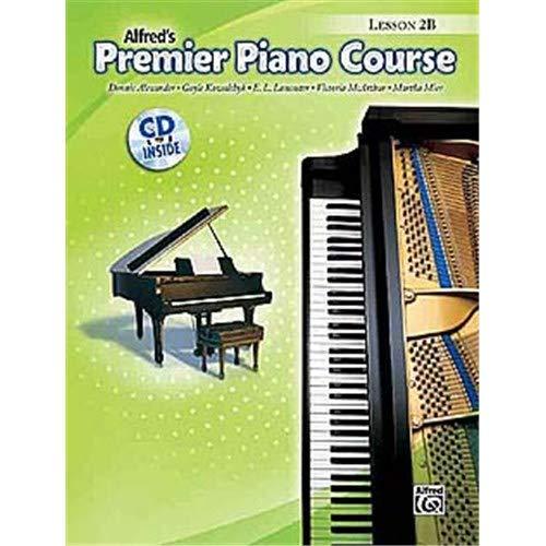 Premier Piano Cursus Les 2B (CD Inclusief). Bladmuziek voor Piano Solo