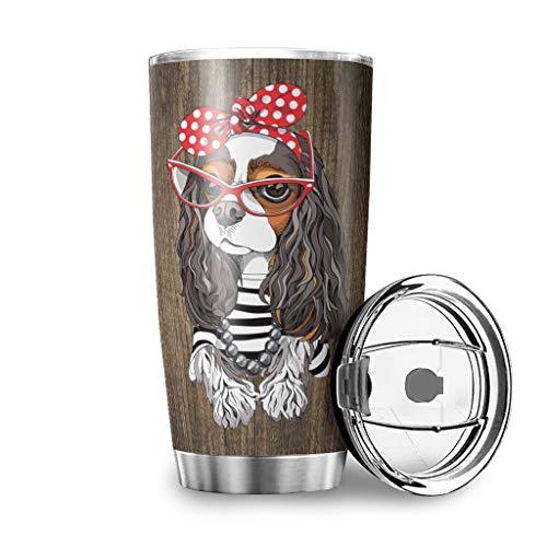 XHJQ88 20 oz Tumbler Ik ben je vriend partner hond rode boog koffie Cup geïsoleerd - fles met duurzame muur voor geschenken