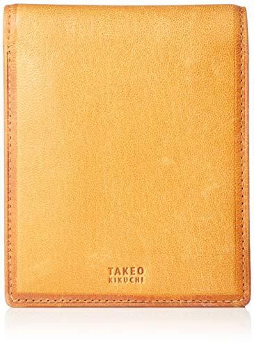 [タケオキクチ] 財布 クロード 101625 キャメル