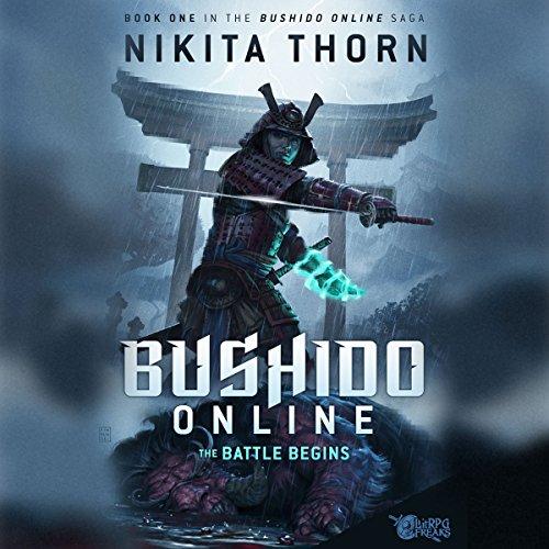 Bushido Online: The Battle Begins audiobook cover art