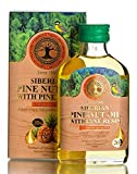 Siberian Pine Nut Oil Enriched with Pine Resin – 20%, Premium Quality, Extra Virgin, First Cold Press, 100 ml – 3.4 Fl Oz
