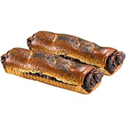 Poppy Seed Cake   Traditional Hungarian Food   Scrumptious & Delicious   Yeast Cake with Poppy Seed Filling   16 oz Per Poppyseed Cake ( 2 Pack )