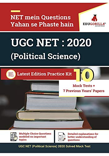 UGC NET (Political Science) 2020 | 10 Mock Test + Previous Years' Papers (2016-2019)