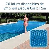 Linxor France  Bâche à Bulles sur Mesure 300 microns / 70 Tailles Disponibles/Norme CE