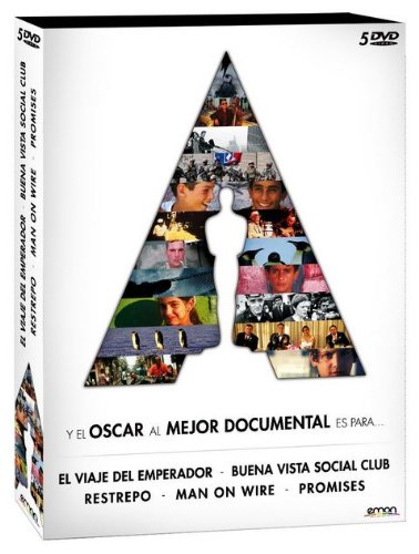 Pack 5 Documentales Oscar: Man On Wire + El Viaje Del Emperador + Promises + Restrepo + Buena Vista Social Club [DVD]