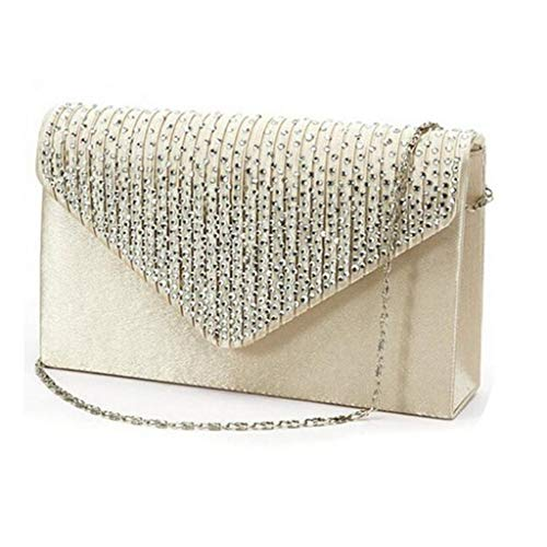 Weant Damen Diamant Handtasche Klein Vintage Shopper Schultertasche Henkeltasche