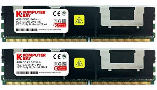 Komputerbay Komputerbay 8GB  2X 4GB  PC2-5300F Bild