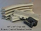LIONEL FASTRACK 40' x 60' REMOTE CONTROL TERMINAL & LIONCHIEF POWER SYSTEM