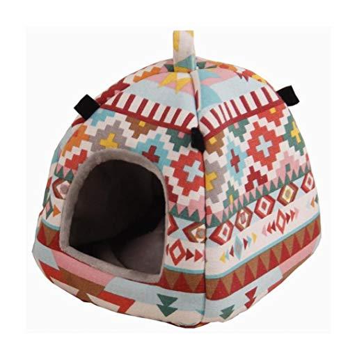 Mascota Hámster Acogedor Albergue Forma De Bolsa De Mongolia Bolsa Ardilla Nido Otoño Invierno Caliente De La Casa Cama Para Animales Pequeños S Tamaño