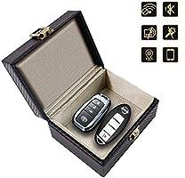 リレーアタック スマートキー 電波遮断ケース リレーアタック防止用スマートキーケース 電波遮断ボックス リレーアタック対策 信号遮断ケース 圏外ケース RFIDブロッキング 完全遮断 車盗難防止 スキミング防止 電子キー電波完全遮断 ブラック