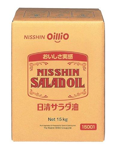 日清オイリオ サラダ油 BIB 15kg