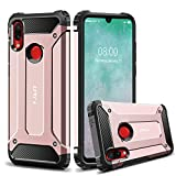 J&D Case Compatible for Redmi Note 7 Case/Redmi Note 7 Pro Case, Heavy Duty [ArmorBox] [Dual Layer] Shock Resistant Hybrid Protective Rugged Case for Xiaomi Redmi Note 7, Xiaomi Redmi Note 7 Pro Case