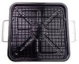 パール金属 角型 もち焼 焼き工房 IH対応 H-8579