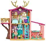 Enchantimals Casa dei Cerbiatti a Tre Stanze, Bambola Danessa e il Suo Amico Cucciolo, Gio...
