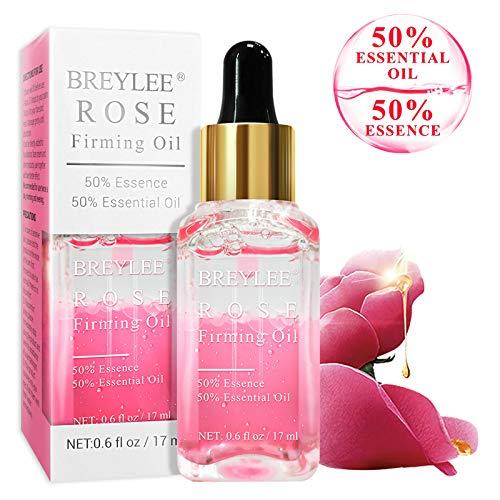 51G4t+g1UOL - Rose Facial Serum, BREYLEE Firming Facial Oils with Hyaluronic Acid Anti-Aging Serum for Moisturizing Nourishing Face Skin Care (17ml, 0.61oz)