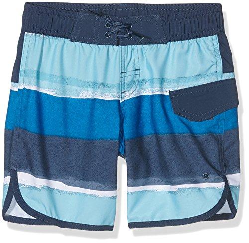 adidas Jungen Badeshorts Y Stripes SH CL, Blau, 164, 4056562730752