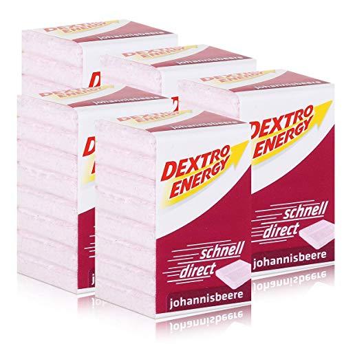 Dextro Energy Traubenzucker Johannisbeere 46g (5er Pack)