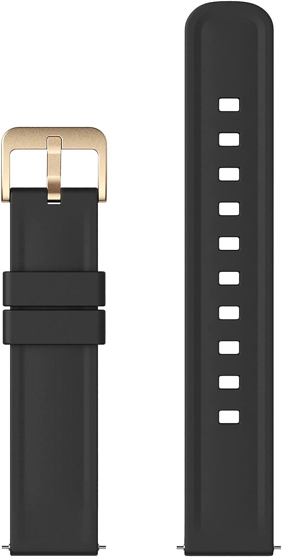 Banda de Reloj Inteligente de 20 mm, Nemheng N1 Smart Watch Correa para Mujer y Hombre, Correas de Repuesto de Reloj de Silicona Ajustable