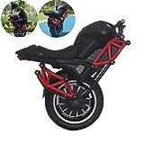 ICENCREN Elektro-Einrad Einrad Motorrad 2000W Maximale Ladegewicht 150 Kg 60V-Lithium-Batterie Einfache Fahrt 65Km Höchstgeschwindigkeit 30 Km/H