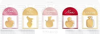 Nina Ricci Air Mail Femme Gift Set 5 x 0.1oz (4ml) - Ricci Ricci EDP + Nina L'eau EDT + Mademoiselle
