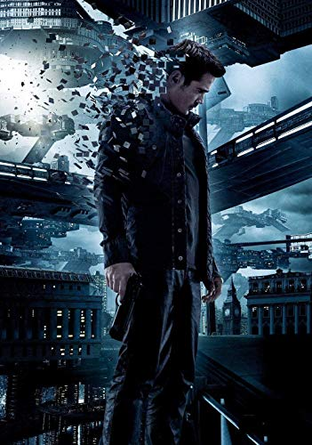 JDFKK 1000 Pieces Puzzles For Adults Total Recall Movie Posters Puzzle Challenge Puzzles For Kids Education Toys Game For Diy Wall Decor