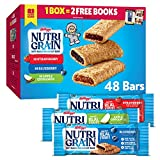 Nutri-Grain Soft Baked Breakfast Bars Variety Pack, Made with Real Fruit and Whole Grains, Kids...