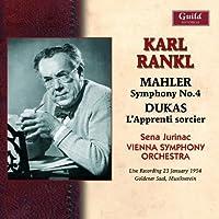 Karl Rankl: Mahler Dukas 1954 by SENA / SO,VIENNA / RANKL,KARL JURINAC (2014-01-14)