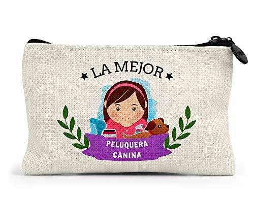 Monedero La Mejor Peluquera Canina del Mundo Regalo Original Personalizado