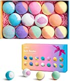 anjou 14 packs bath bombs gift set, perfect for bubble bath, fizzy spa, rich in pure natural