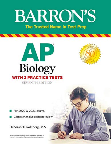 AP Biology: With 2 Practice Tests (Barron's Test Prep)