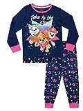 Paw Patrol Pijamas de Manga Larga para niñas La Patrulla Canina Azul 4-5 Años