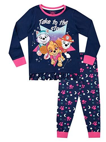 Paw Patrol Pijamas de Manga Larga para niñas La Patrulla