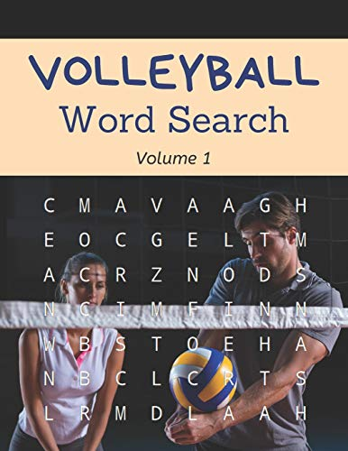 Volleyball Word Search (Volume 1): Large Print Puzzle Book for Teenage and Adult Volleyball Fans