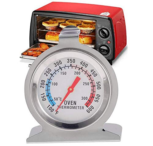 Roestvrij staal Oven Thermometer, Monitoring oventemperaturen, Instant lezen Oven/Grill thermometer for Kitchen Baking Supplies aijia