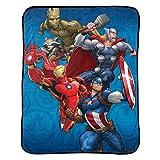 Marvel Avengers Blanket Kids Bedding Throw - 46 in. x 60 in.