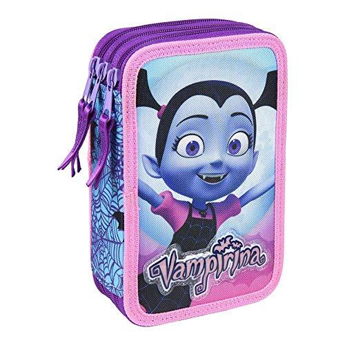 Azul 23 cm Bleu Artesania Cerda Neceser Set Aseo//viaje Vampirina Trousse de Toilette