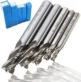 REFURBISHHOUSE 7PC 8mm haute qualite queue droite//percage de defonceuse regle a 6,8,10,12,14,18,20mm de diametre outils de coupe de bois