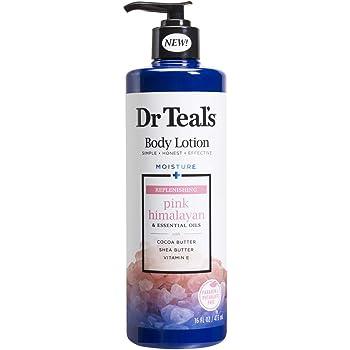Dr Teal's(ティールズ) ボディローション ピンクヒマラヤンソルト ボディクリーム ベルガモット&オレンジ 473ml