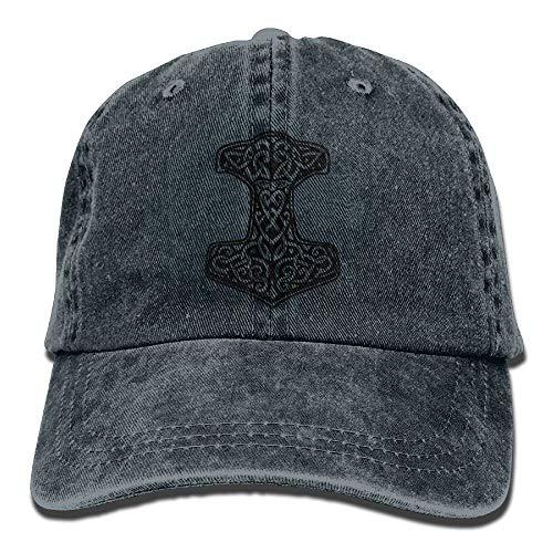 KKAIYA Thor's Hammer Viking Norse Adjustable Cotton Hat