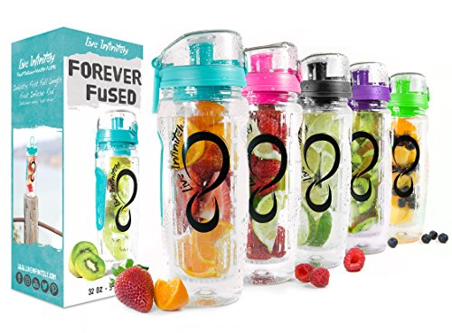 Live Infinitely Infuser Water Bottles