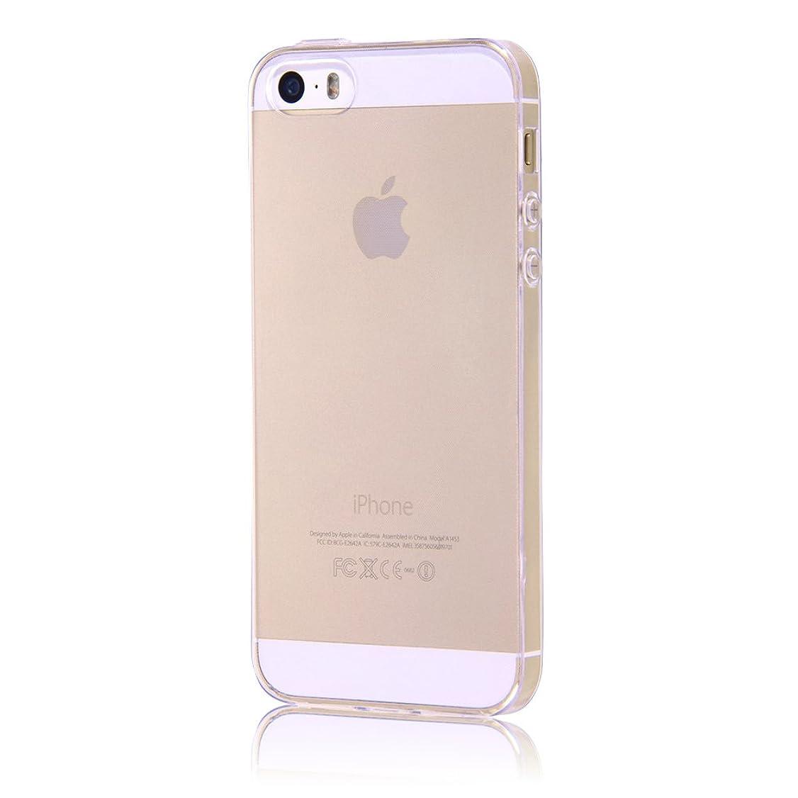知覚する効果的知り合いになるレイ?アウト iPhone SE / iPhone5s / iPhone5 ケース TPUソフトケース 極薄 クリア RT-P11TC7/CM